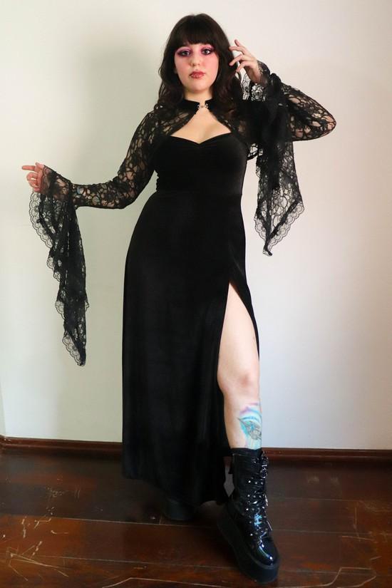 Vestido Longo Supreme Veludo