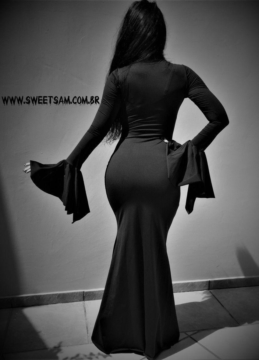 Vestido Morticia
