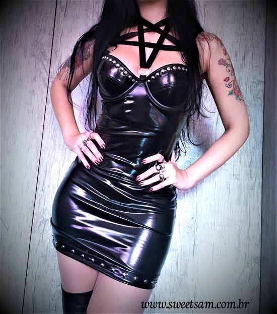 Vestido Sexy Shine