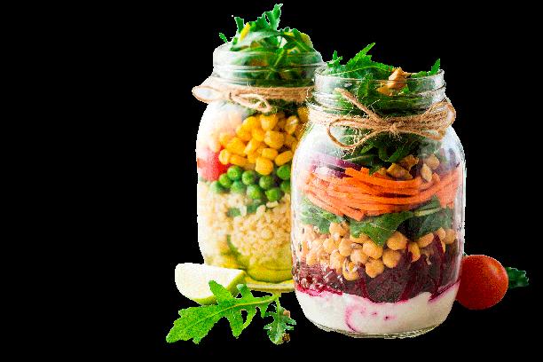 Curso- Saladas e Molhos  Saudáveis - 18/11/21 - 13:30 às 17:30 h