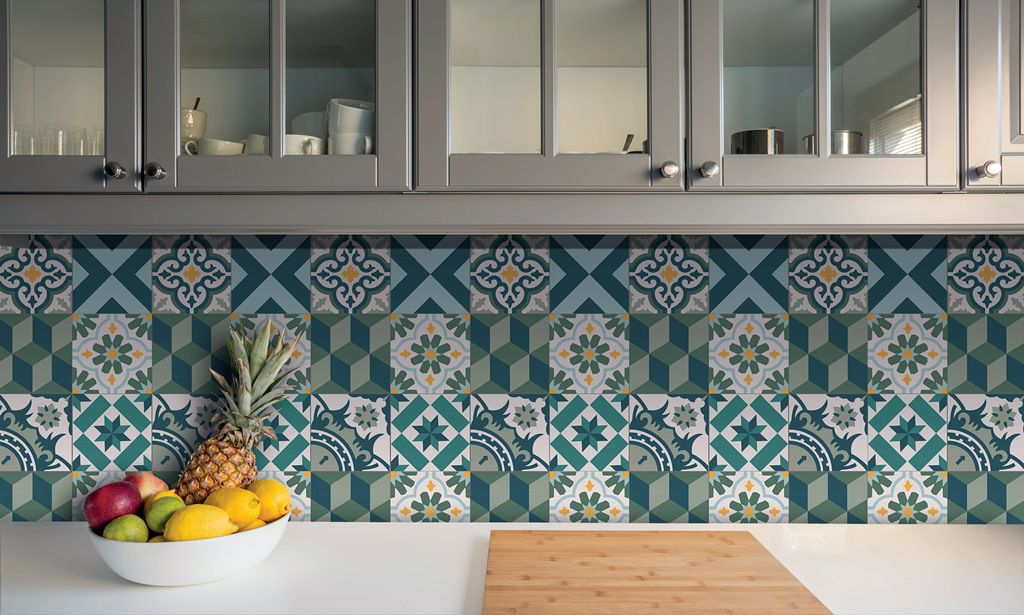 Azulejo Adesivo Antalya 15 x 15