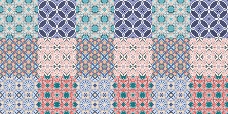 Azulejo Adesivo Candy Colors 15 x 15
