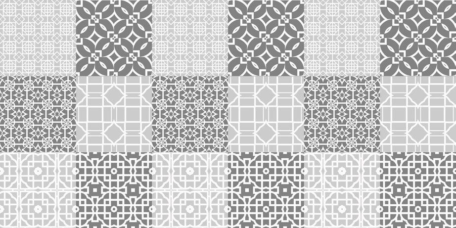 Azulejo Adesivo Damasco 15 x 15