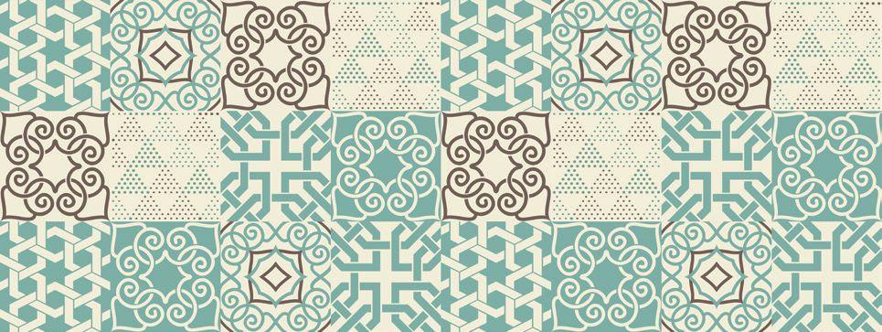 Azulejo Adesivo Dubai Verde 15 x 15