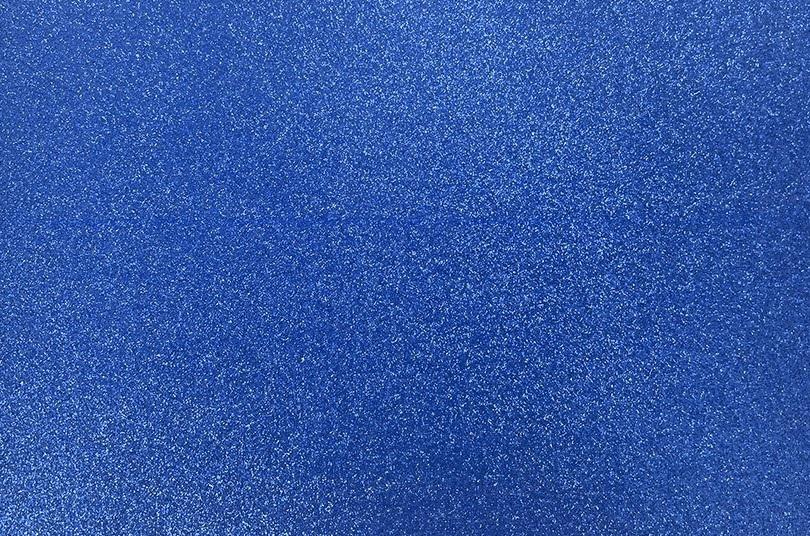 Papel Contact Adesivo Glitter Azul Royal 10m