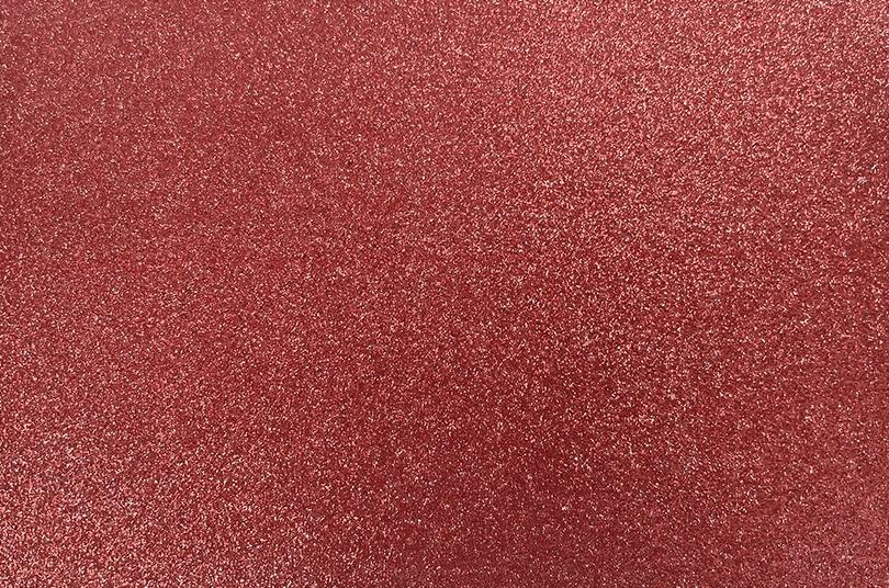 Papel Contact Adesivo Glitter Vermelho 10m