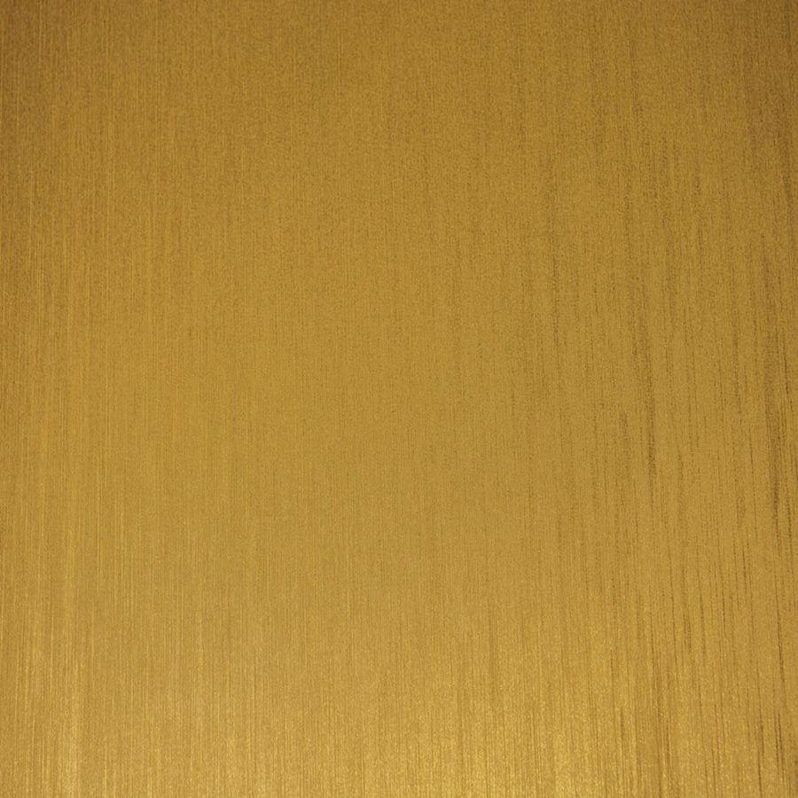 Papel de Parede Adesivo Aço Escovado Ouro com Textura 45cm x 10m