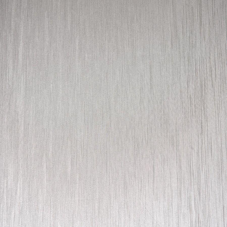 Papel de Parede Adesivo Aço Escovado Prata com Textura 45cm x 10m