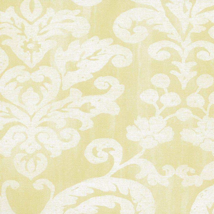 Papel de Parede Arabesco Amarelo 52cm x 10m Classique