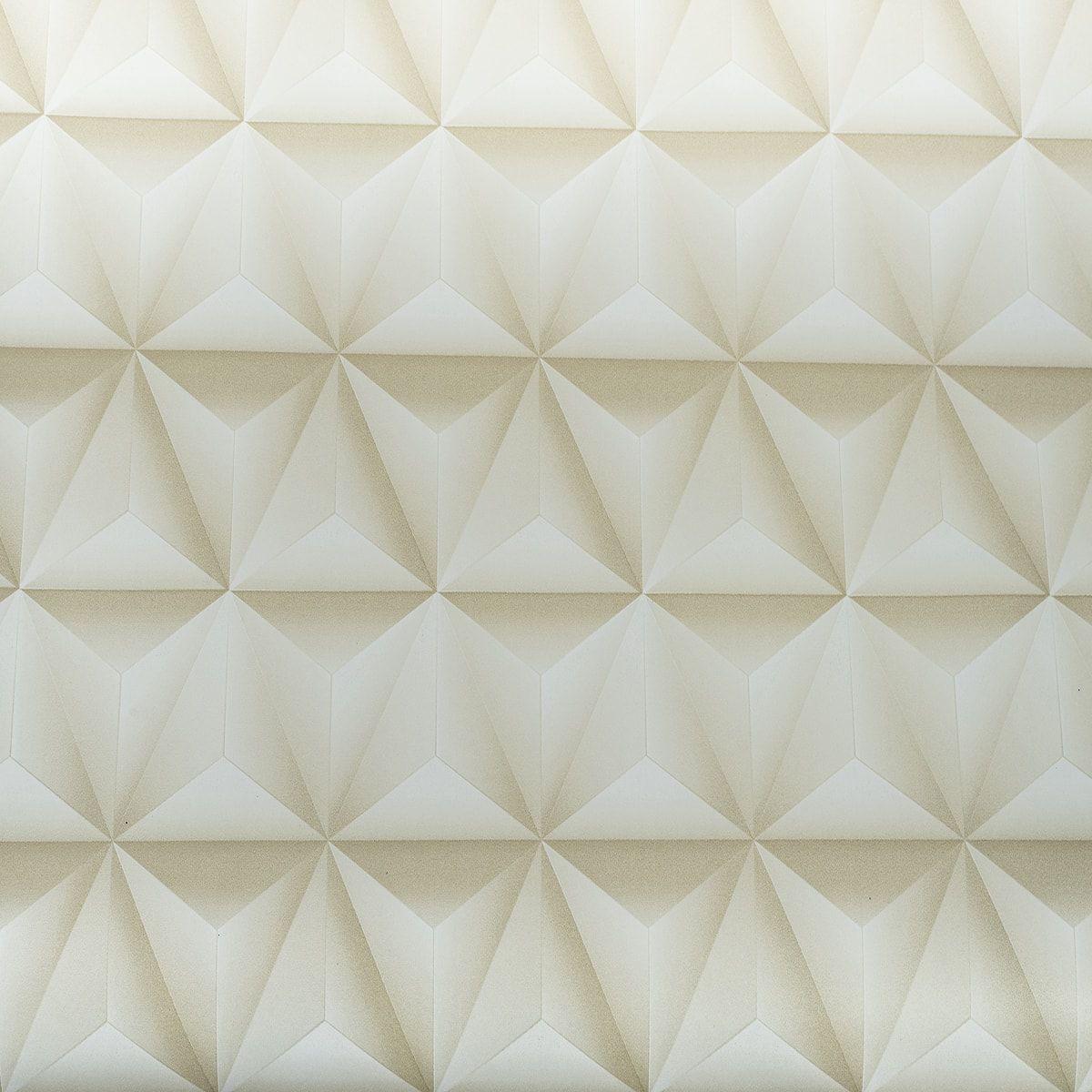 Papel de Parede Autoadesivo Geométrico 3D 45cm x 10m