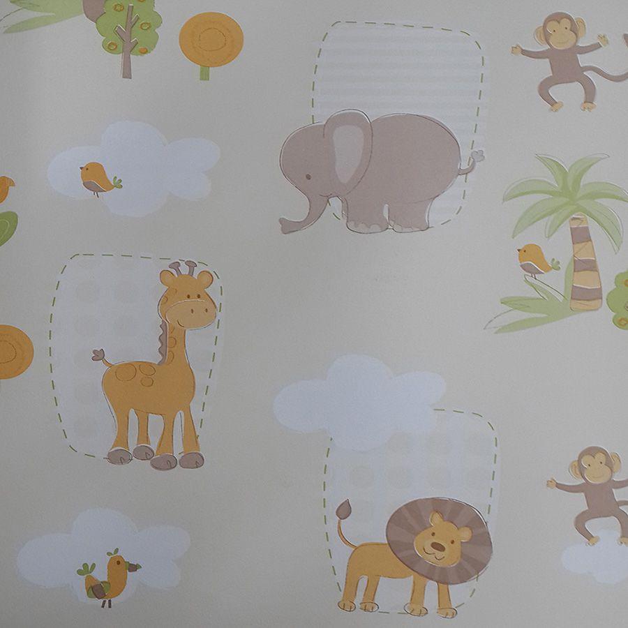 Papel de Parede Safari Novo Encanto