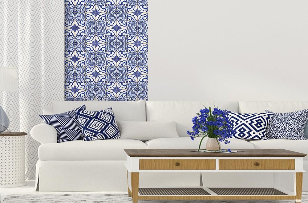 Revestimento Adesivo Azulejo Português