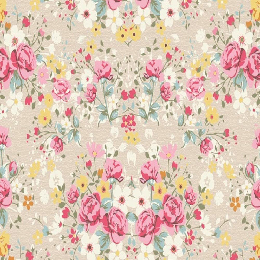 Revestimento Adesivo Floral Primavera 10m