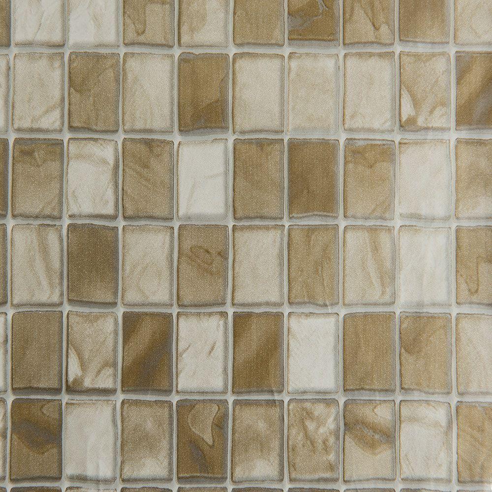 Revestimento Adesivo Contact Pastilha Dourada