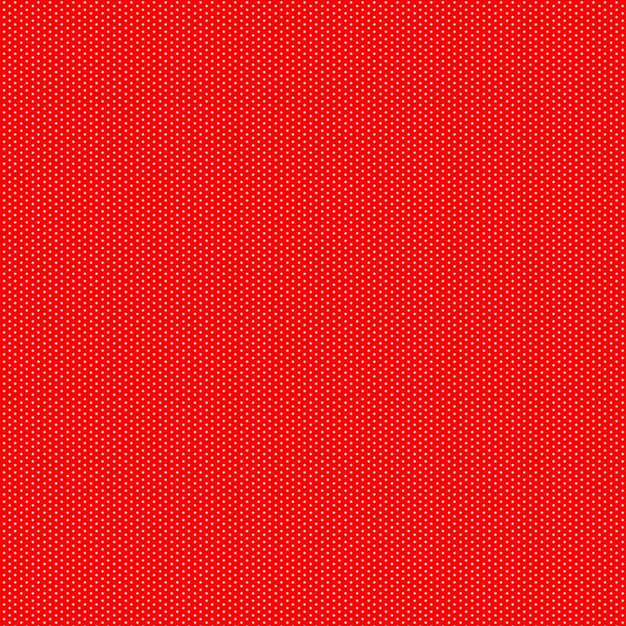 Revestimento Adesivo Poá Vermelho e Branco