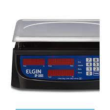 Balança DP30 Elgin 30KG /5G C/Bateria e Selo Inmetro