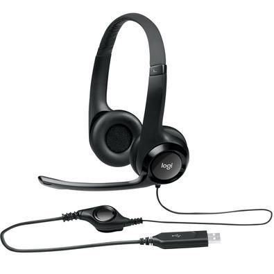 Headset Logitech H390 USB para computador