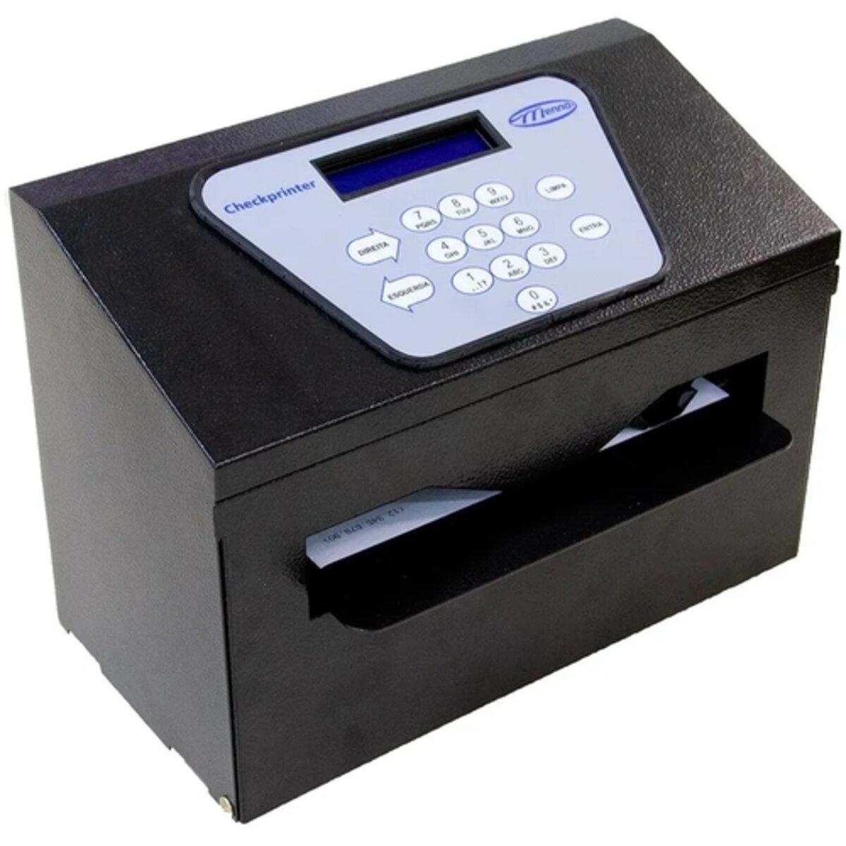 Impressora de cheque Datacheck Chekprinter II Menno