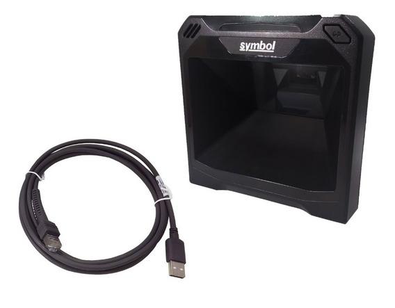 Leitor Zebra Fixo DS7708-SR 2D PR - USB Zebra Symbol