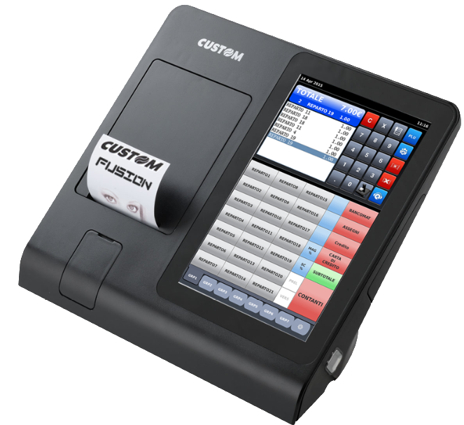 NPDV FUSION 10.1'' 2TPCAP LINUX, IMP ETH E USB 8X80 E DISPLAY DE CLIENTE
