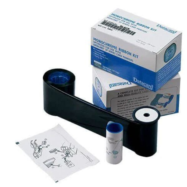 Ribbon Monocromático Preto Datacard HQ SD260/SD360/SP35/SP55