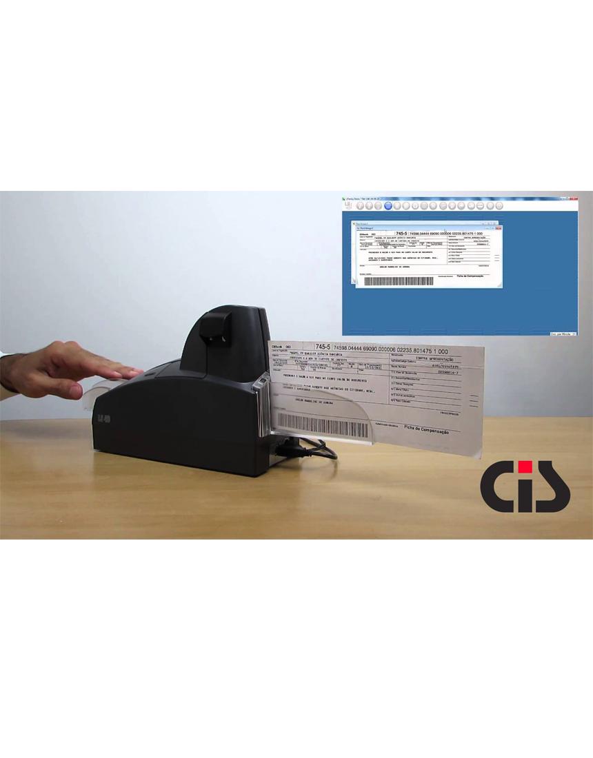 Scanner de Cheques LS40 Cis