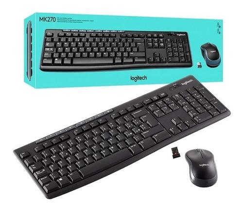 Teclado + Mouse Logitech MK270