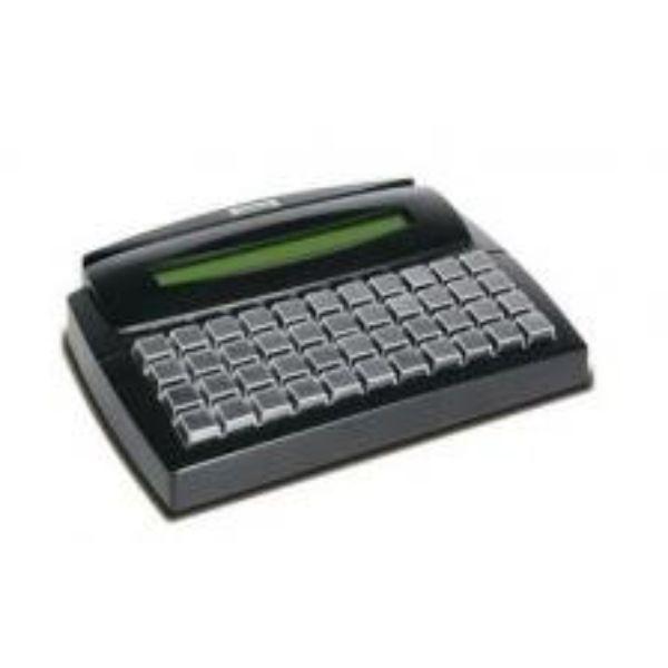 Teclado PDV Gertec TEC-E 44 Teclas C/ Display - Usb