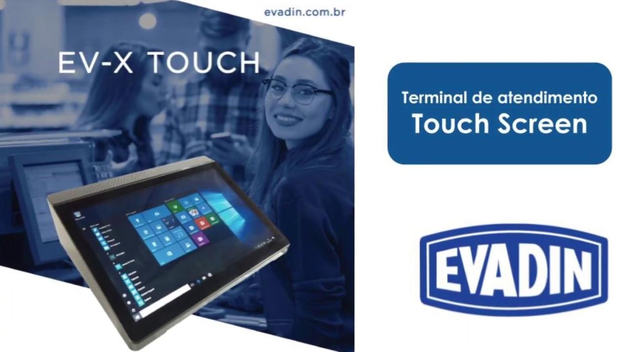 Terminal Touch Screen Evadin EV-X Touch
