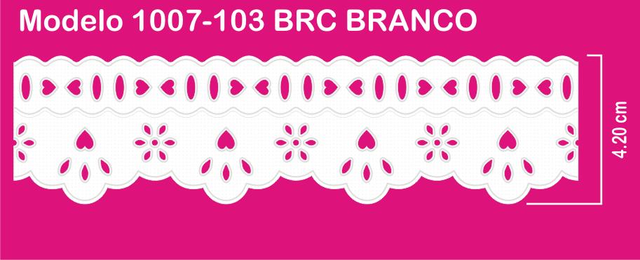 1007-103 PAM Bord. c/Passa F. Sonic 4,20cm X 10m c/10un BRC  - Baby Sonic Aviamentos
