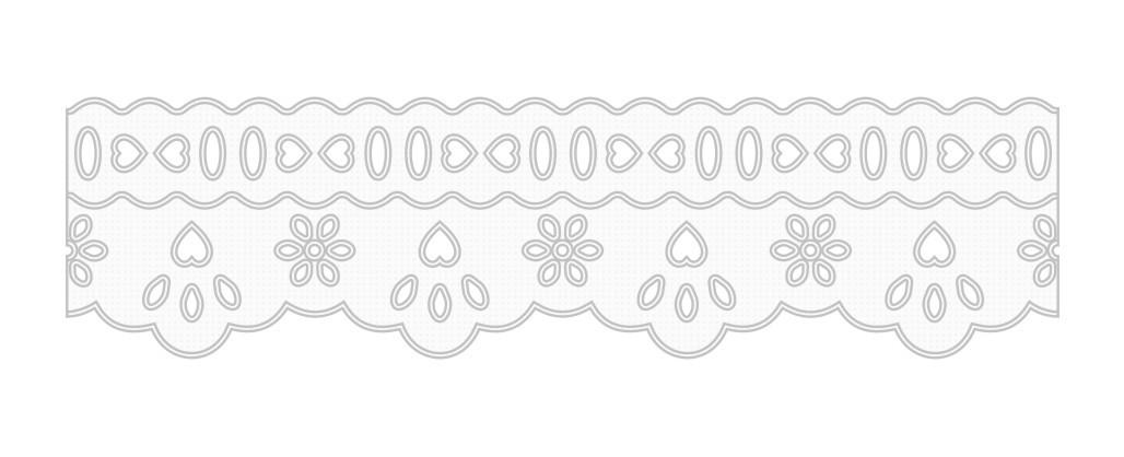 1007 Bord. Inglês c/P.F. 4,2cm X 10m KIT c/10un Branco PAT  - Baby Sonic Aviamentos