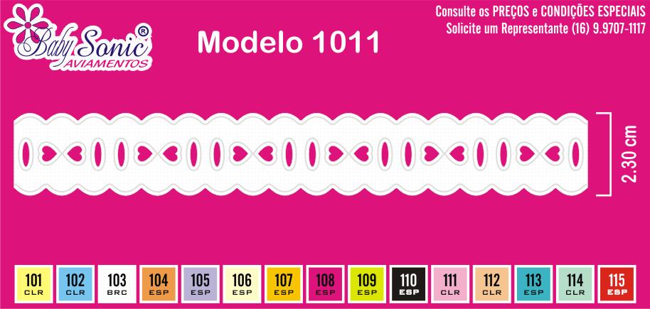1011 Passa Fita 2,3cm X 10m