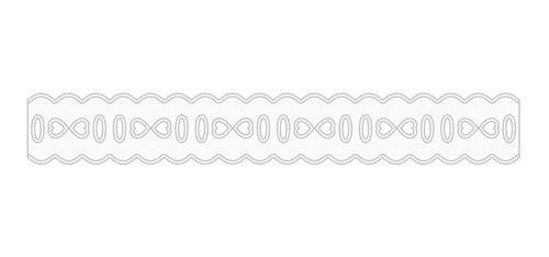 1011 Passa Fita 2,3cm X 10m  - Baby Sonic Aviamentos