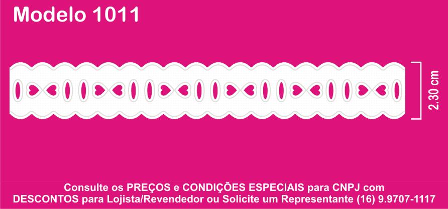 1011 Passa Fita 2,3cm X 10m KIT c/10un Branco PAM