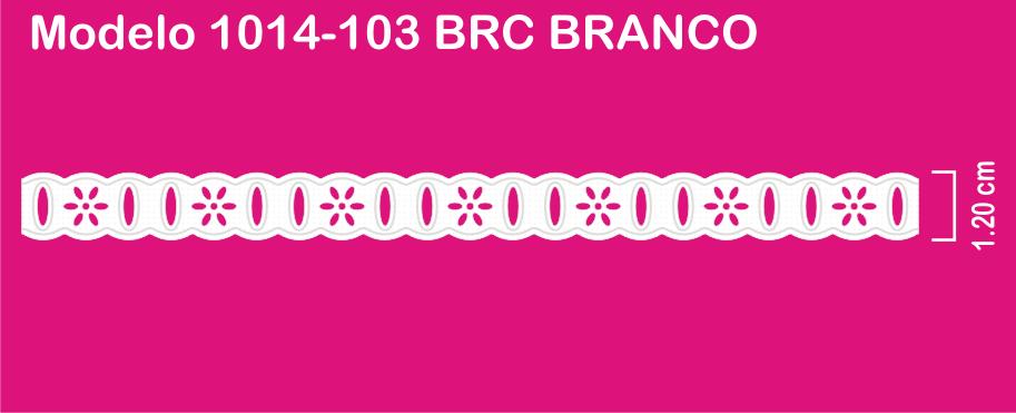 1014-103 PAM Passa Fita Sonic 1,20cm X 10m c/10un BRANCO  - Baby Sonic Aviamentos