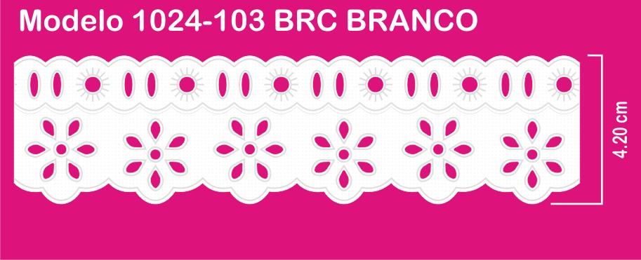 1024-103 PAM Bord. c/Passa F. Sonic 4,20cm X 10m c/10un BRC  - Baby Sonic Aviamentos