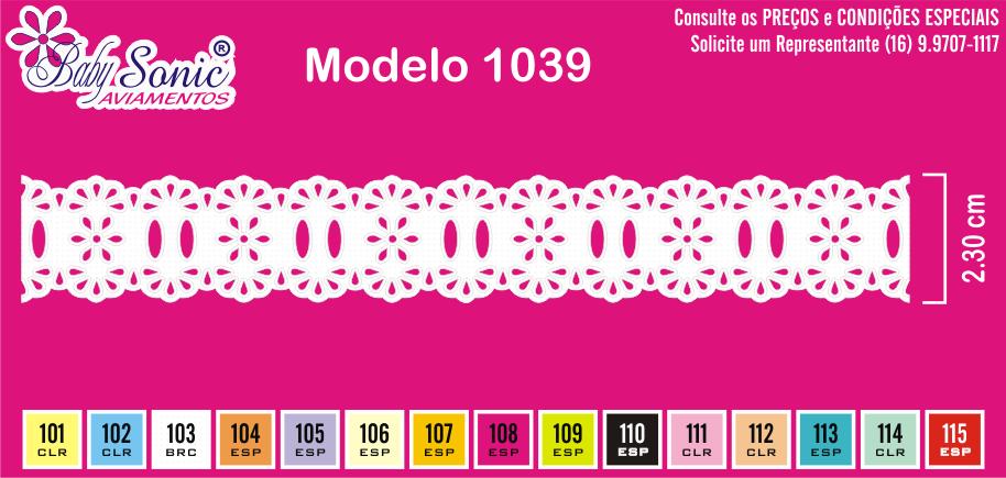 1039 Passa Fita 2,3cm X 10m
