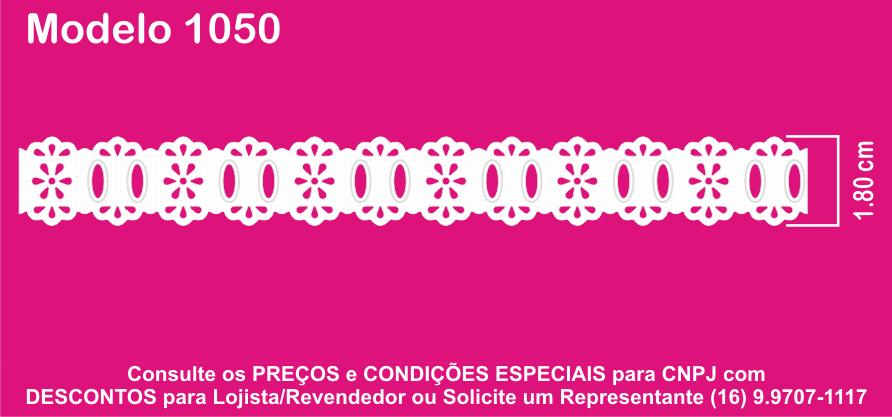 1050 Passa Fita 1,8cm X 10m KIT c/10un Branco PAM