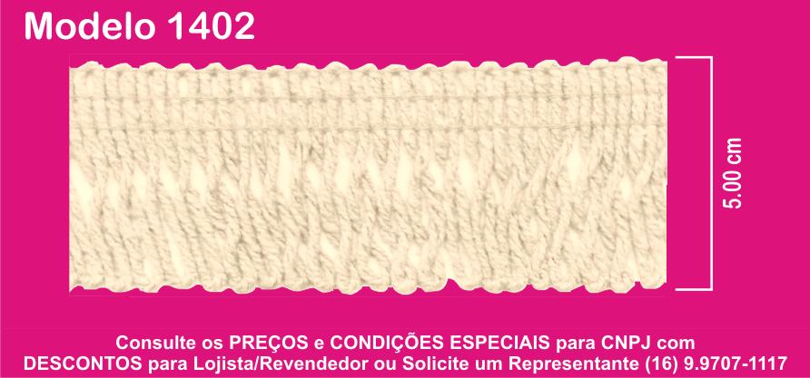 1402 Franja Torcida 5cm X 10m