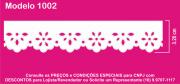 1002 PAM Bordado Sonic 3,20cm X 10m