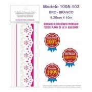 1005 Bordado Inglês 4,2cm X 10m KIT c/10un Branco POM