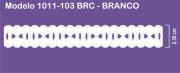 1011 POM Passa Fita Sonic 2,30cm X 10m - Cor Branco