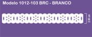 1012 POM Passa Fita Sonic 2,00cm X 10m - Cor Branco