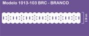 1013 POM Passa Fita Sonic 2,30cm X 10m - Cor Branco
