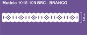 1015 POM Passa Fita Sonic 2,00cm X 10m - Cor Branco
