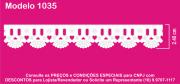 1035 PAM Bord. c/Passa F. Sonic 2,40cm X 10m