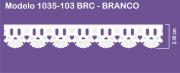 1035 POM Bord. c/Passa F. Sonic 2,40cm X 10m - Cor Branco