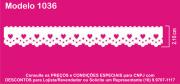 1036 PAM Bordado Sonic 2,10cm X 10m