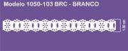 1050 POM Passa Fita Sonic 1,80cm X 10m - Cor Branco