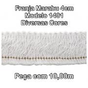 1401 Franja Marabu 4cm X 10m